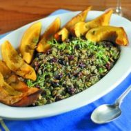 Quinoa Pilaf with Dried Cranberries & Roasted Squash