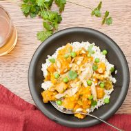 Slow Cooker Chicken Curry with Sweet Potatoes